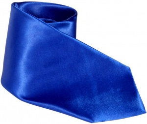 Uni Carress Solid Men's Tie (Blue) Carma-Ty-309