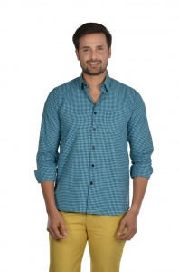 S9 Men Checks Semi Formal Casual Shirt For Men  S9-FS-ECO-2A