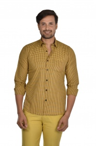 S9 Men Checks Semi Formal Casual Shirt For Men  S9-FS-ECO-2C