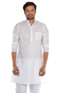 S9 Men High Summer Cotton crisp sheer Kurta