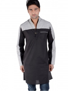 S9 Men Designer 2 cut Black & Grey Multi  S9-Mk-206B