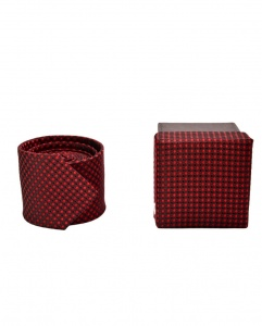 Uni Carress Gift box ties - for someone u love - UC-TYgiftBox-01m/Maroon