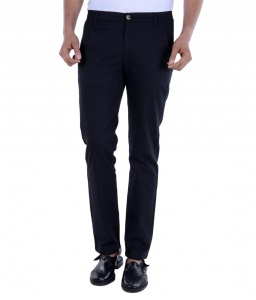 S9 Men Black Chino Trouser