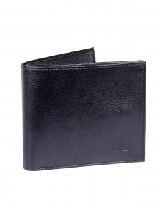 Uni Carress- 6 Card Slots Casual & Formal Black Artificial Leather Wallet For Men (Black)UC-MW-016