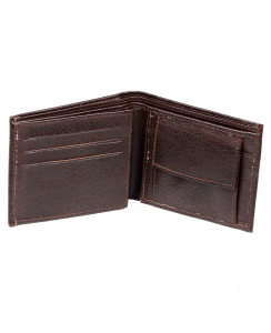 Uni Carress- 6 Card Slots Casual & Formal Black Artificial Leather Wallet For Men (Black) UC-M-W-06
