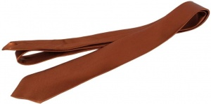 Uni Carress Solid Men's Tie (Brown) CARMA-TY-209