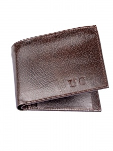 Uni Carress- 6 Card Slots Casual & Formal Brown Artificial Leather Wallet For Men (Brown) UC-MW-021