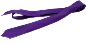 Uni Carress Solid Men's Tie (Purple) CARMA-TY-203