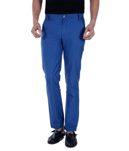 S9 Men Blue Chino Trouser