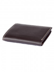 Uni Carress- 6 Card Slots Casual & Formal Black Artificial Leather Wallet For Men (Brown) UC-MW-019